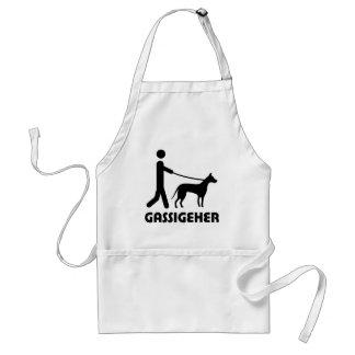 Gassigeher dog walker hund adult apron