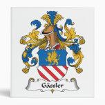 Gassler Family Crest Binder