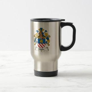 Gassler Family Crest Coffee Mugs