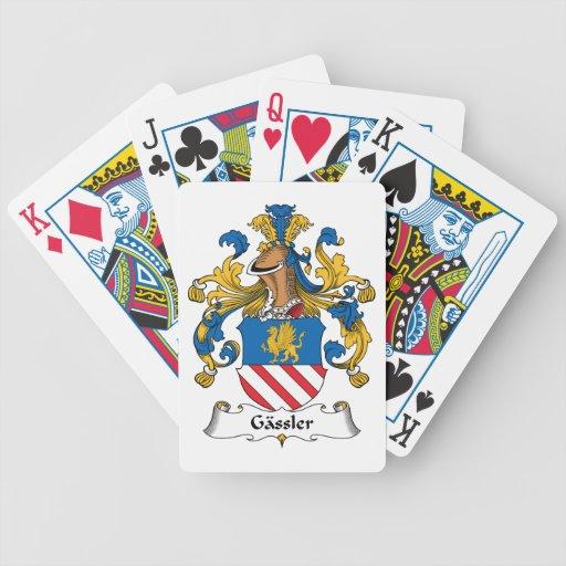 Gassler Family Crest Deck Of Cards