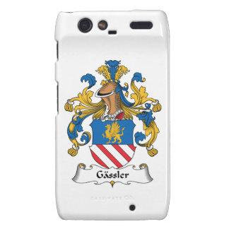 Gassler Family Crest Droid RAZR Cover
