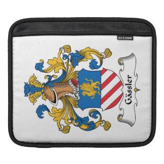 Gassler Family Crest iPad Sleeves