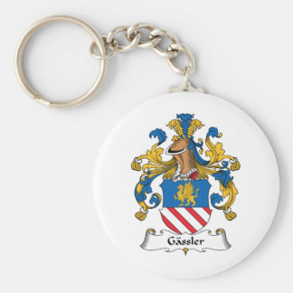 Gassler Family Crest Keychains