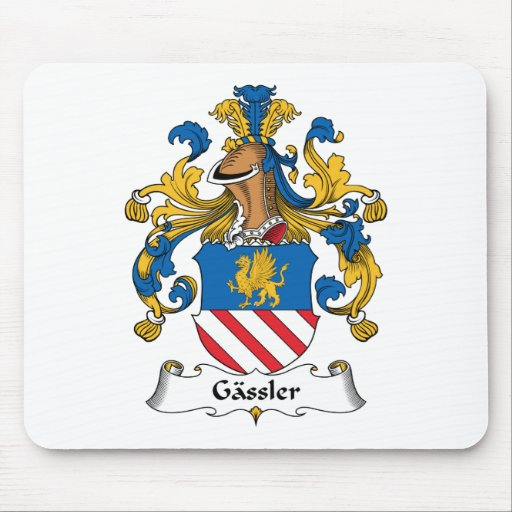 Gassler Family Crest Mouse Pad