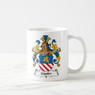 Gassler Family Crest Mug