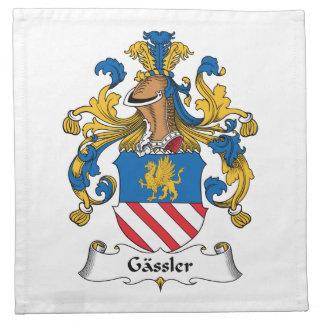 Gassler Family Crest Napkin