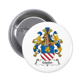 Gassler Family Crest Pins