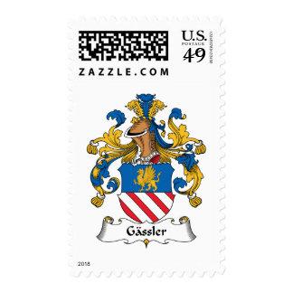 Gassler Family Crest Stamp