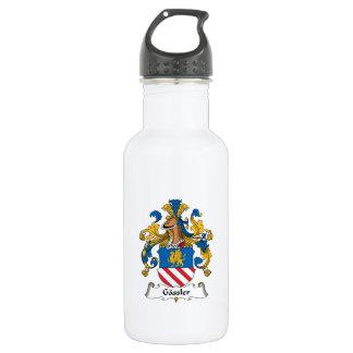 Gassler Family Crest Water Bottle