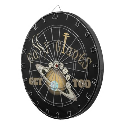 Gassy Giants Get Engaged Too! Dartboard With Darts