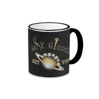 Gassy Giants Get Engaged Too! Ringer Coffee Mug