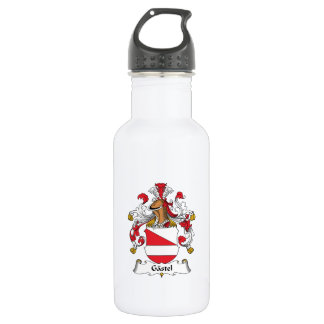 Gastel Family Crest 18oz Water Bottle