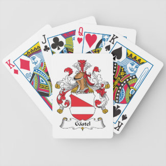 Gastel Family Crest Bicycle Playing Cards