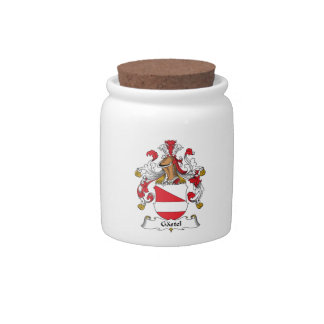 Gastel Family Crest Candy Jar