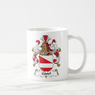 Gastel Family Crest Classic White Coffee Mug