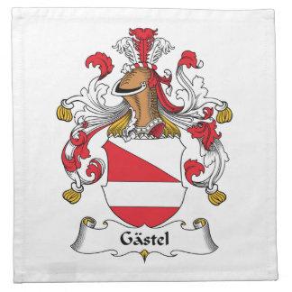 Gastel Family Crest Cloth Napkins