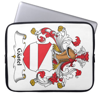 Gastel Family Crest Computer Sleeves