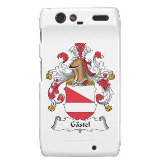 Gastel Family Crest Droid RAZR Covers