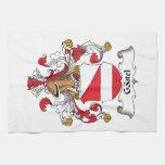 Gastel Family Crest Kitchen Towel