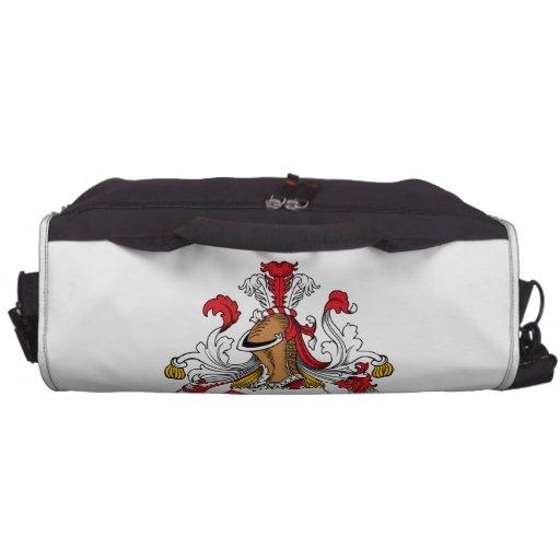 Gastel Family Crest Laptop Computer Bag