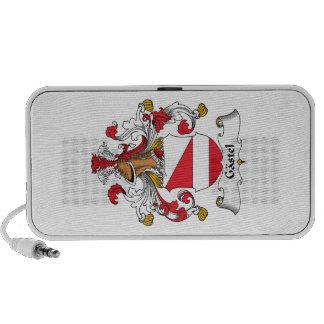 Gastel Family Crest Portable Speakers