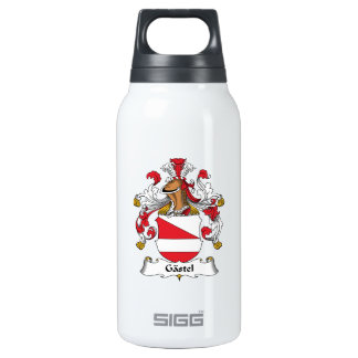 Gastel Family Crest 10 Oz Insulated SIGG Thermos Water Bottle