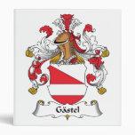 Gastel Family Crest Vinyl Binders
