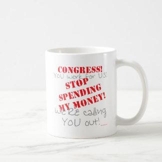Gasto de la parada - congreso taza de café