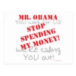 Gasto de la parada - Obama Postal
