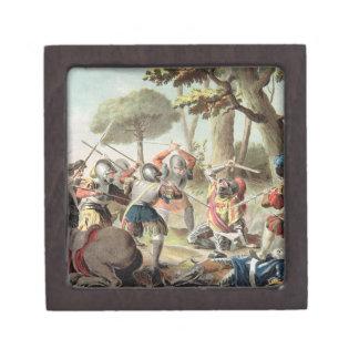 Gaston de Foix (1488-1512) Slain at the Battle of Keepsake Box