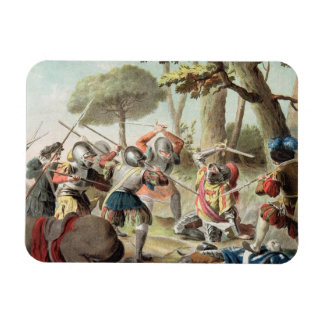 Gaston de Foix (1488-1512) Slain at the Battle of Rectangular Photo Magnet