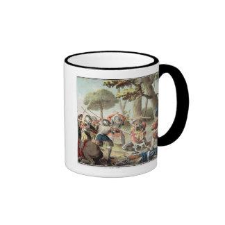 Gaston de Foix (1488-1512) Slain at the Battle of Ringer Mug