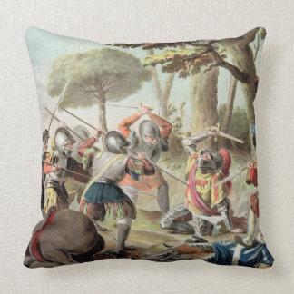 Gaston de Foix (1488-1512) Slain at the Battle of Throw Pillow