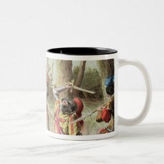 Gaston de Foix (1488-1512) Slain at the Battle of Two-Tone Coffee Mug