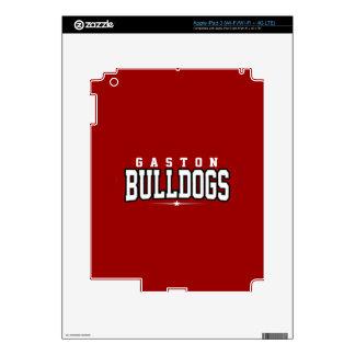 Gaston High School; Bulldogs iPad 3 Skin