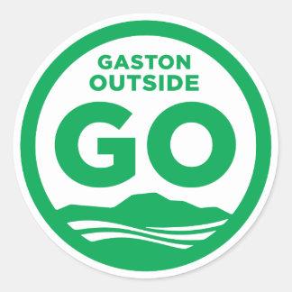 Gaston Outside Sticker