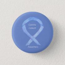 Gastric Cancer Awareness Ribbon Custom Art Pin