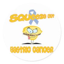 Gastric Cancer Classic Round Sticker