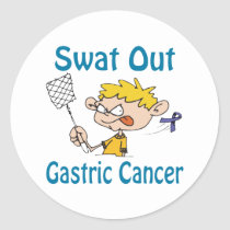 Gastric-Cancer Classic Round Sticker