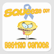 Gastric Cancer Square Sticker