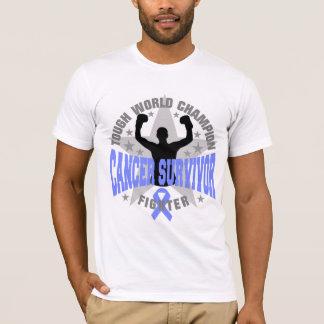 Gastric Cancer Tough World Champion Survivor T-Shirt