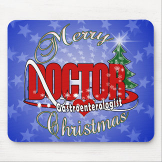 Gastroenterologist DOCTOR CHRISTMAS Mouse Pad