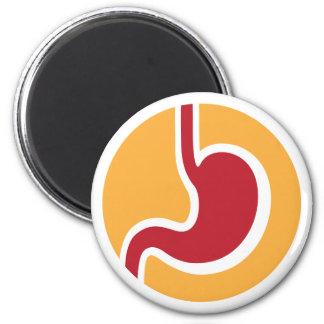 Gastroenterologist or gastroenterology red yellow magnet