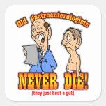 Gastroenterologists Square Sticker