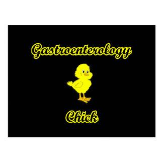 Gastroenterology Chick Postcard