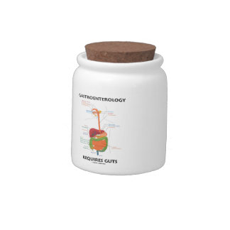 Gastroenterology Requires Guts (Digestive System) Candy Jars