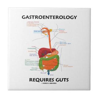 Gastroenterology Requires Guts (Digestive System) Tile