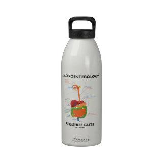 Gastroenterology Requires Guts (Digestive System) Water Bottles