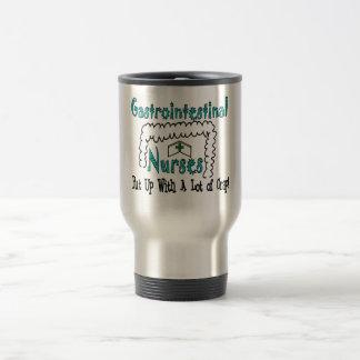 Gastrointestinal Nurses Put Up With Crap Travel Mug
