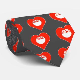 Gastrónomo del amor corbata personalizada